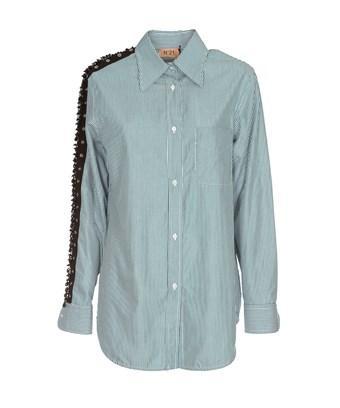 N°21 Women's  Light Blue Cotton Shirt