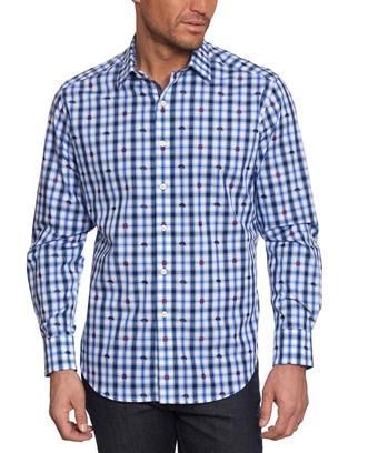 Robert Graham Catskills Classic Fit Linen & Silk-blend Woven Shirt In Nocolor