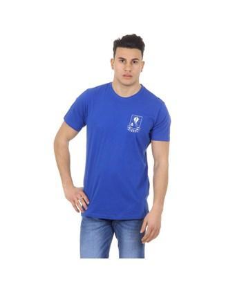 Diesel Men's  Blue Cotton T-shirt