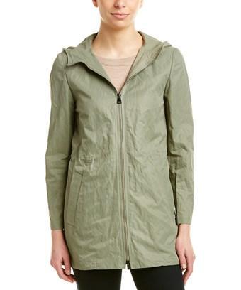 Cinzia Rocca Icons Rain Jacket In Green