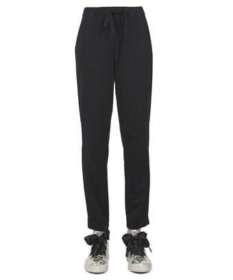 Liviana Conti Women's  Black Polyamide Pants