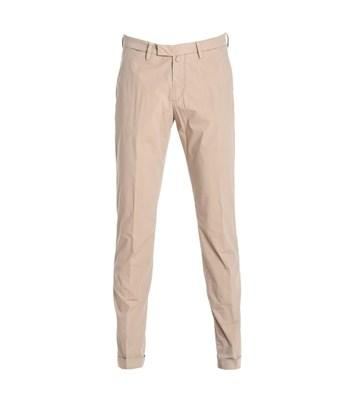 Briglia 1949 Men's  Beige Cotton Pants In Brown