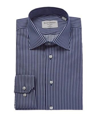 Hickey Freeman Classic Fit Dress Shirt In Blue