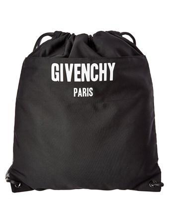 Givenchy Paris Drawstring Backpack In Black