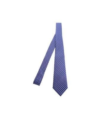 Kiton Men's  Blue Silk Tie