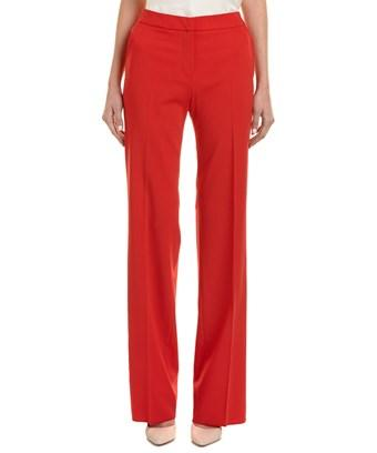 Max Mara Zelanda Trousers In Red