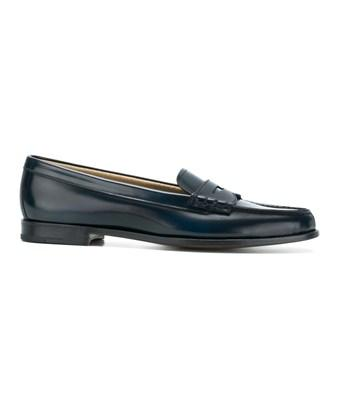 Church's Women's  Blue Leather Loafers
