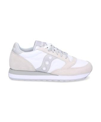 Saucony Women's  White Suede Sneakers