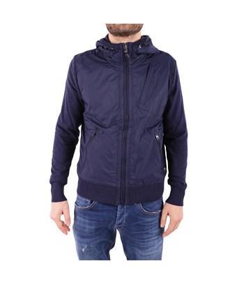 Parajumpers Men's  Blue Cotton Outerwear Jacket