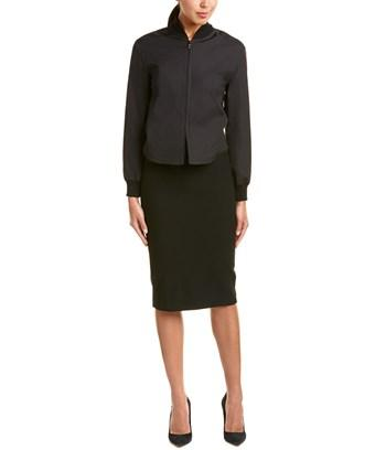 Max Mara Sheath Dress In Black
