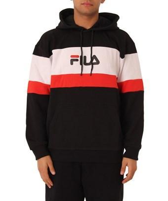 Fila Men's  Black Cotton Sweatshirt