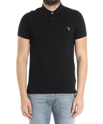 Paul Smith Men's  Black Cotton Polo Shirt