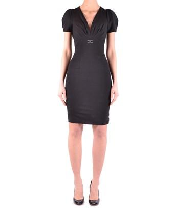 Elisabetta Franchi Women's  Black Viscose Dress