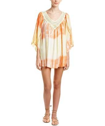 Velzera Lace-trim Shift Dress In Nocolor