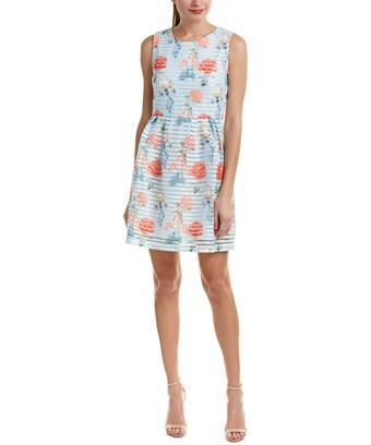 Molly Bracken Lace Sheath Dress In Nocolor