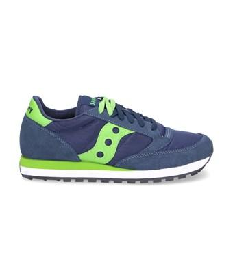 Saucony Men's  Blue Suede Sneakers