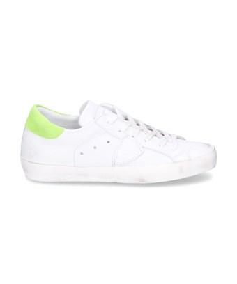 Philippe Model Women's  White Leather Sneakers