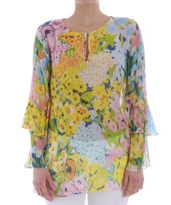 Boutique Moschino Women's  Multicolor Viscose Blouse In Multiple Colors
