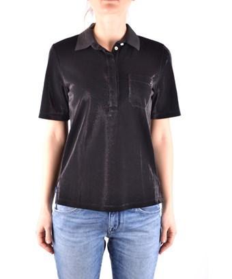 Jacob Cohen Women's  Black Cotton Polo Shirt
