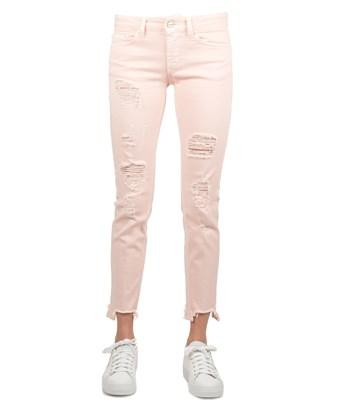 Dondup Women's  Pink Cotton Jeans