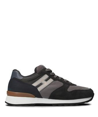Hogan Men's  Brown Leather Sneakers