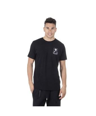 Diesel Men's  Black Cotton T-shirt