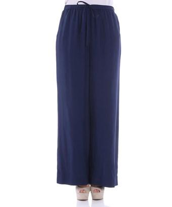 Parosh P.a.r.o.s.h. Women's  Blue Silk Pants