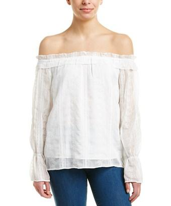 Aiden Off-the-shoulder Top In White