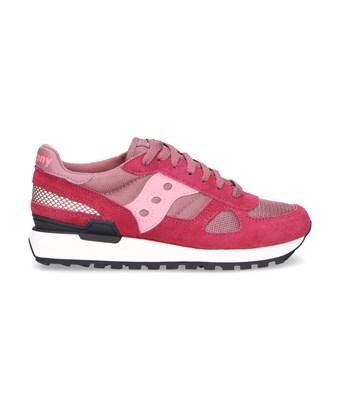 Saucony Women's  Red Suede Sneakers