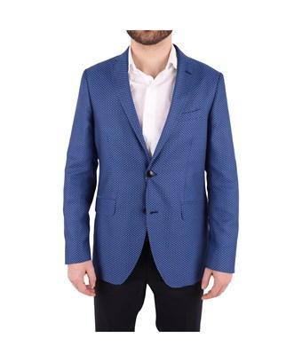 Etro Men's  Blue Cotton Blazer