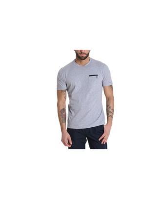 Brunello Cucinelli Men's  Grey Cotton T-shirt