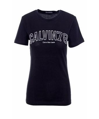 Calvin Klein Jeans Est.1978 Calvin Klein Jeans Women's  Black Cotton T-shirt