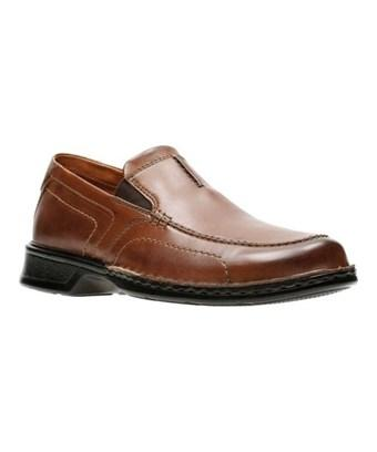 Clarks Men's   Northam Race Loafer In Brown Full Grain Leather