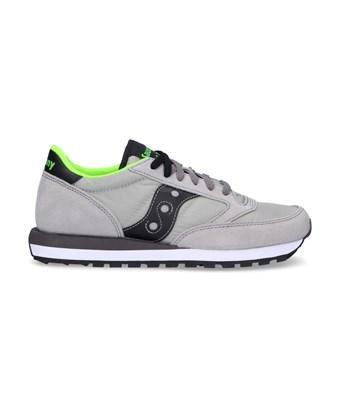 Saucony Men's  Grey Suede Sneakers