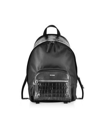 Neil Barrett Men's  Black Polyamide Backpack