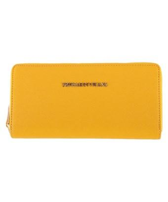 Trussardi Women's  Yellow Polyester Wallet