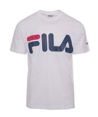 Fila Men's  White Cotton T-shirt