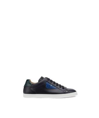 Fendi Men's  Black Leather Sneakers
