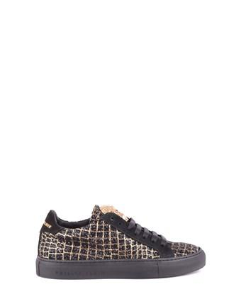 Philipp Plein Women's  Black Suede Sneakers
