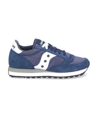 Saucony Women's  Blue Suede Sneakers