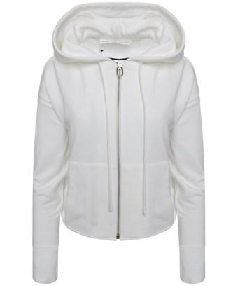 Golden Goose Women's  White Cotton Sweatshirt