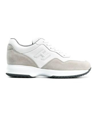 Hogan Men's  White Leather Sneakers