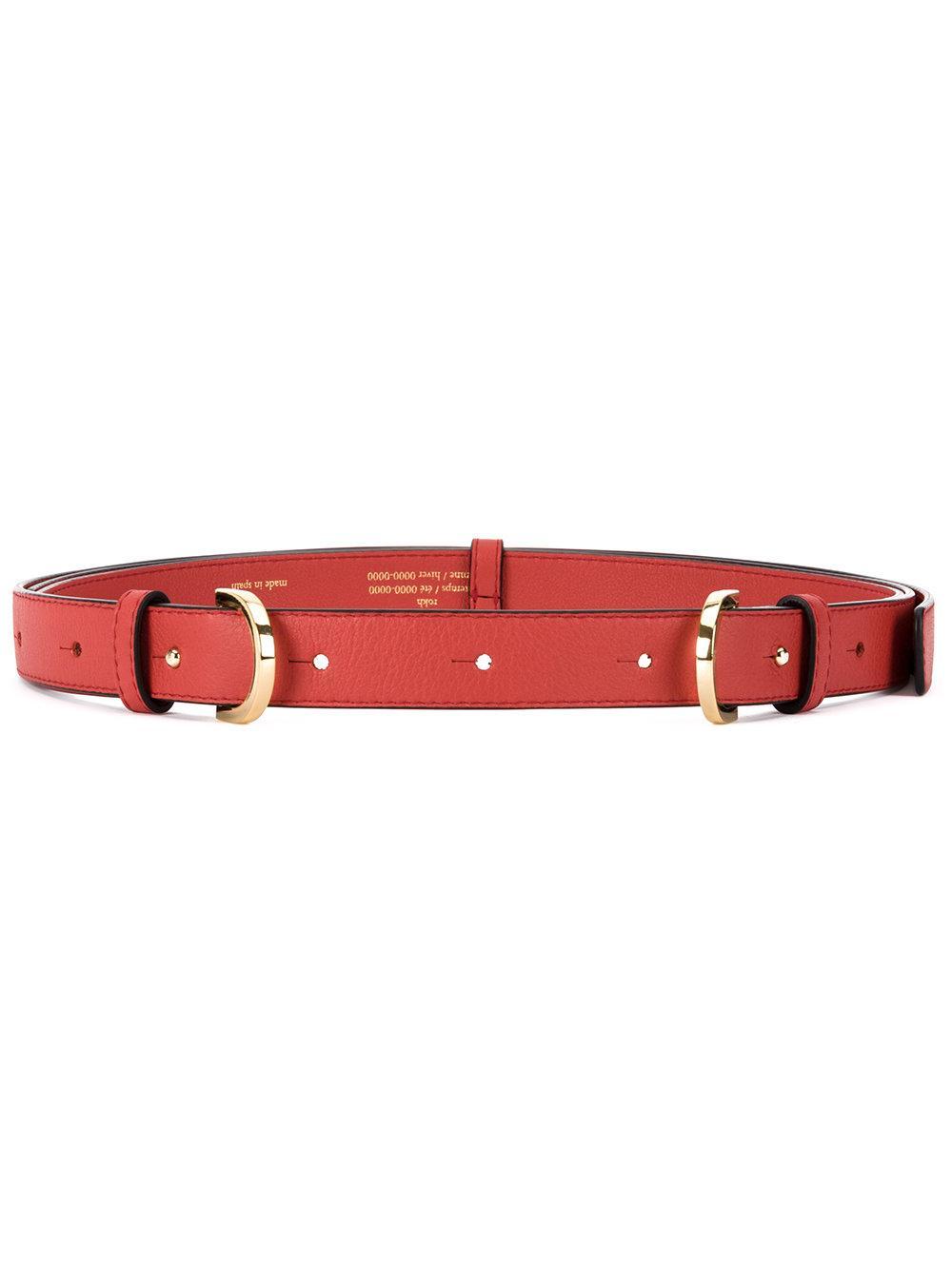 Rokh Double Buckle Belt