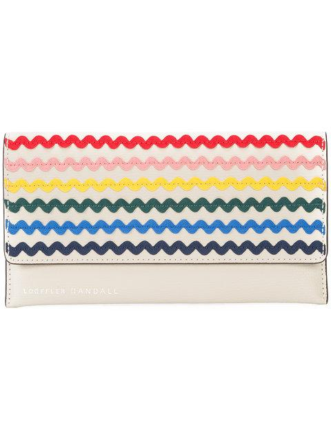 Loeffler Randall Wave Design Wallet