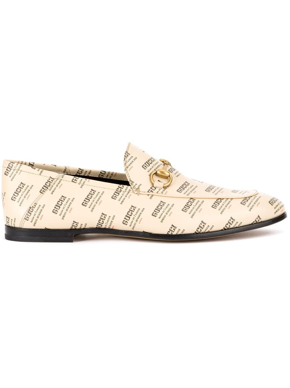 Gucci Gg Monogram Loafers