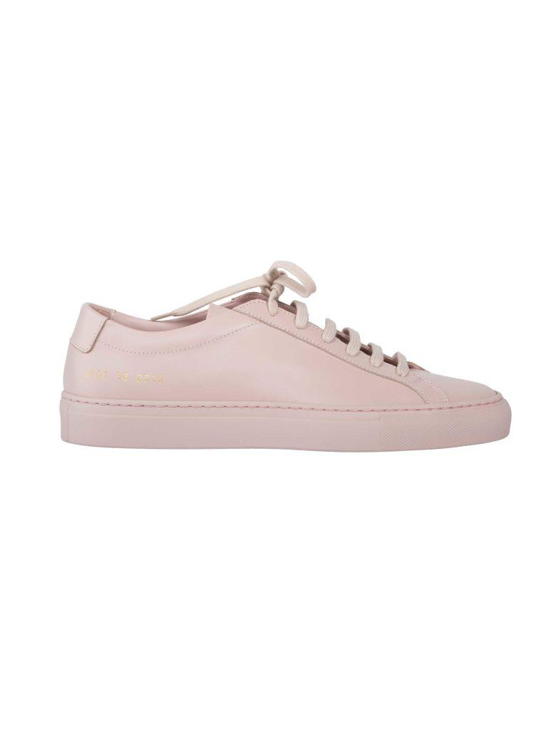 Common Projects S Original Achilles Low Sneakers In Blush
