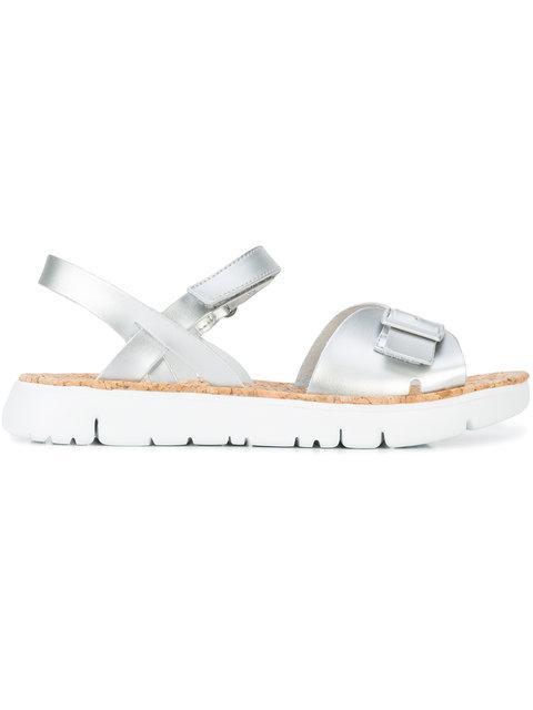 Camper Buckled Toe Strap Sandals
