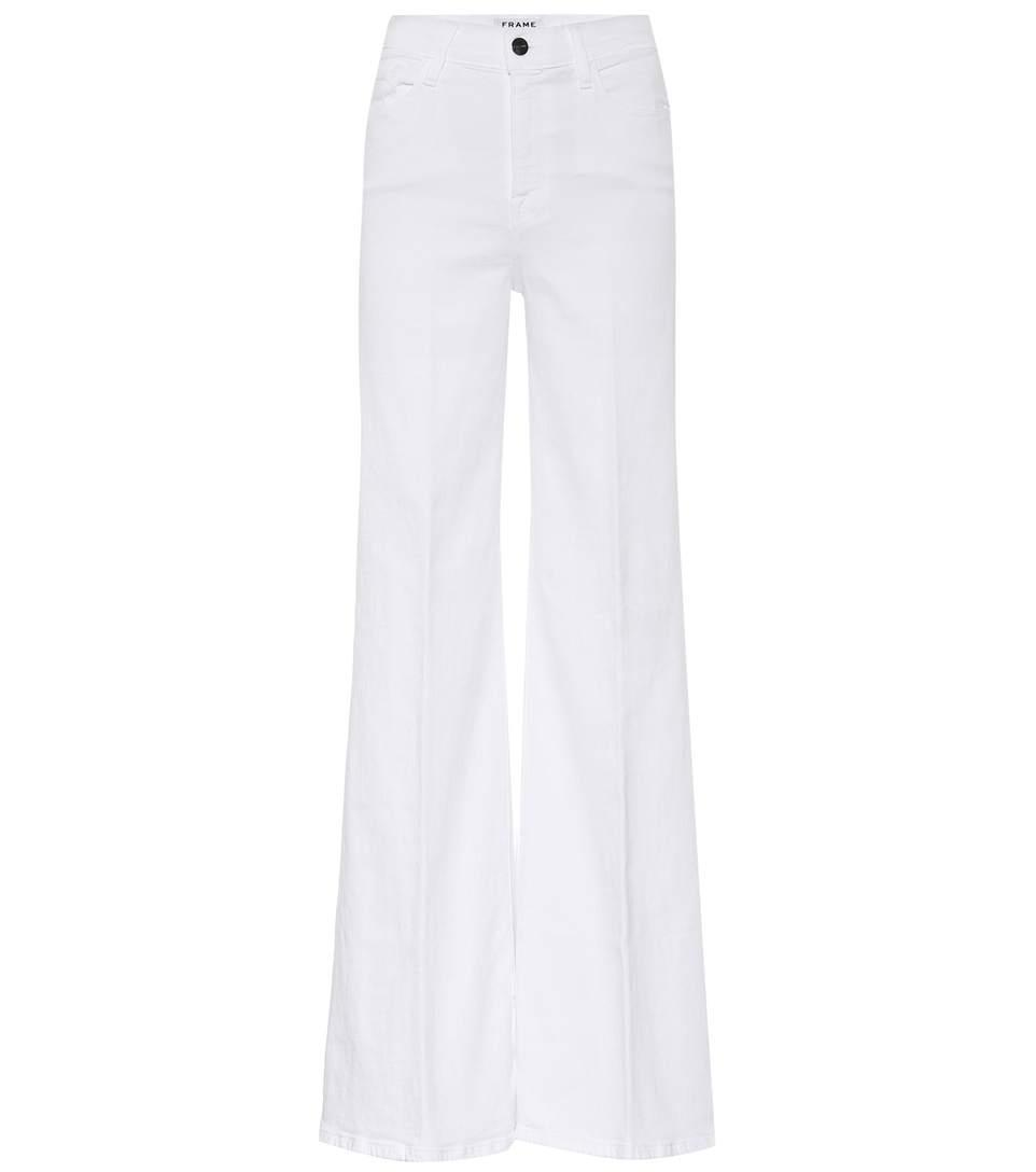Frame High-waisted Wide-leg Jeans