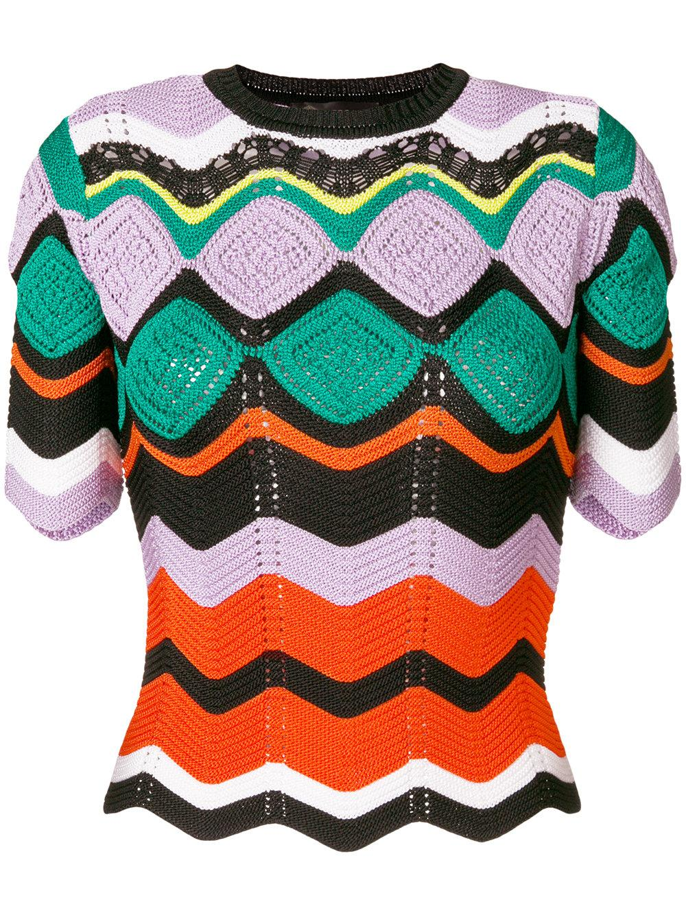 Versace Crochet Knit Jumper