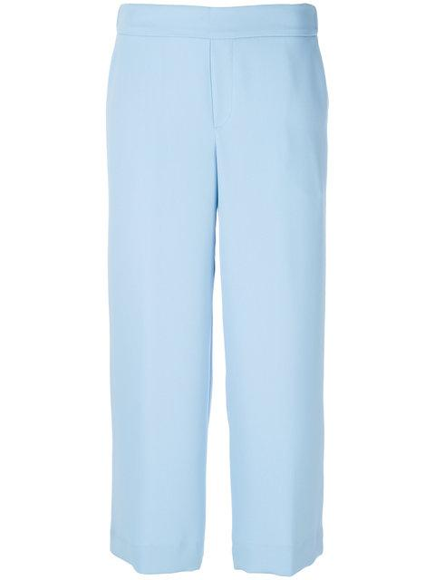 P.a.r.o.s.h. Cropped Straight Trousers